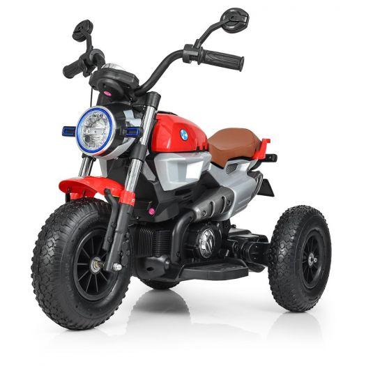 Мотоцикл дитячий Bambi Racer на акумуляторі, червоний (M 3687AL-3)купити
