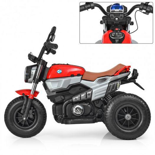 Мотоцикл дитячий Bambi Racer на акумуляторі, червоний (M 3687AL-3)в Україні