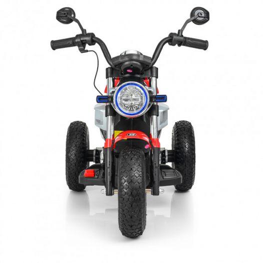 Мотоцикл дитячий Bambi Racer на акумуляторі, червоний (M 3687AL-3)замовити