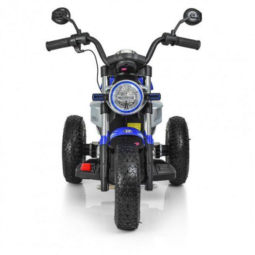 Мотоцикл дитячий Bambi Racer на акумуляторі, синій (M 3687AL-4)замовити