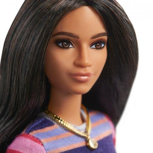 Лялька Barbie Fashionistas у смугастій сукні (GYB02)замовити