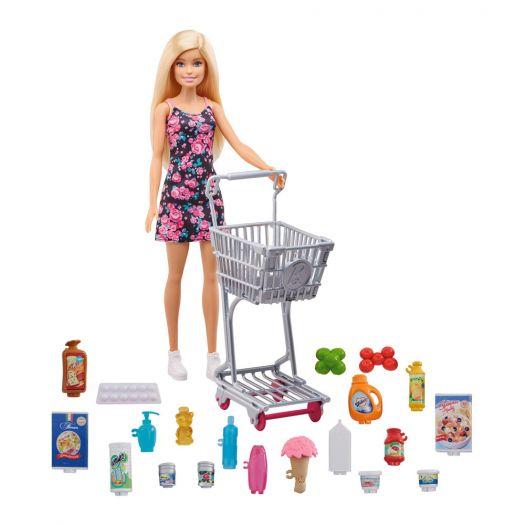 Ігровий набір Barbie Продуктова крамниця (GTK94)купити