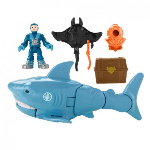 Ігровий набір Imaginext Полювання на акулу в асорт. (GKG78)замовити
