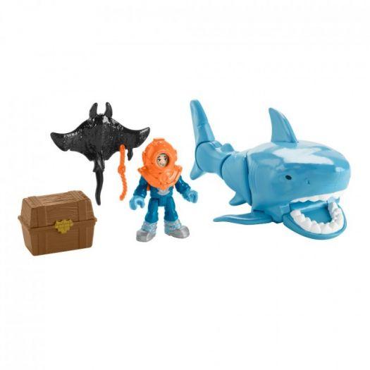 Ігровий набір Imaginext Полювання на акулу в асорт. (GKG78)купити