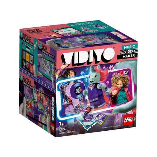 Конструктор LEGO Vidiyo Unicorn DJ BeatBox (Бітбокс Діджея Єдинорога) (43106)замовити