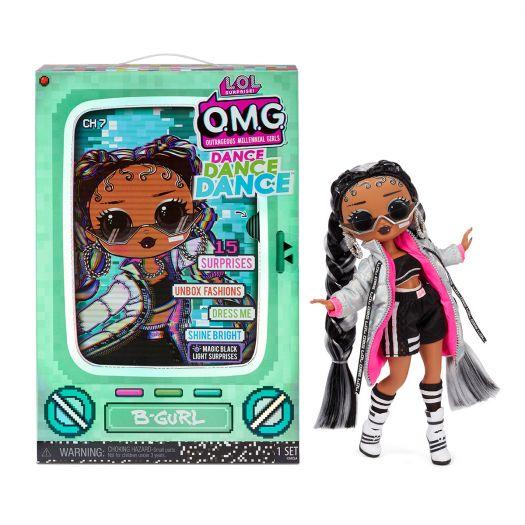 Ігровий набір з куклою LOL SURPRISE! Серії O.M.G. Dance - БРЕЙК-ДАНС ЛЕДИ (117858)замовити