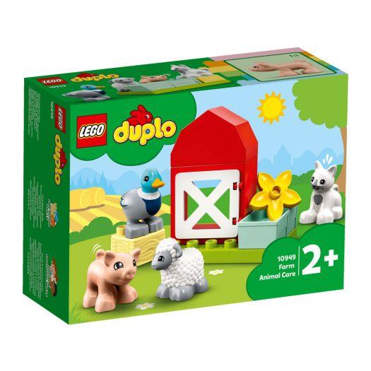 Конструктор LEGO Duplo Догляд за тваринами на фермі (10949)купити