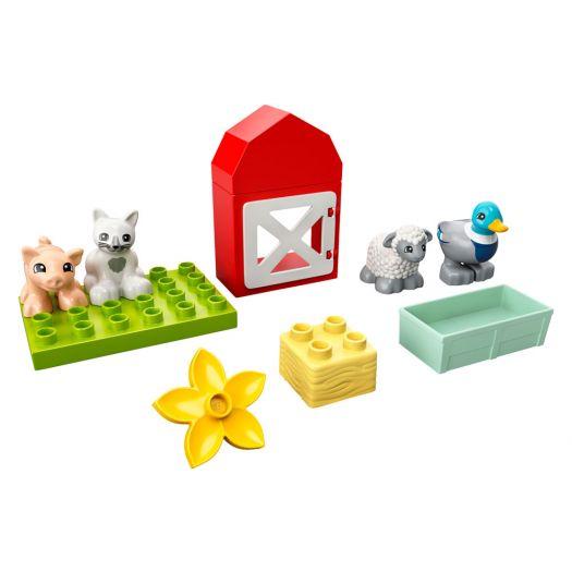 Конструктор LEGO Duplo Догляд за тваринами на фермі (10949)замовити