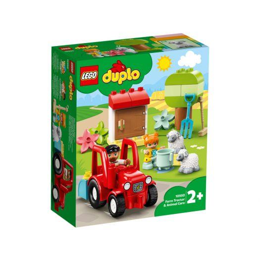 Конструктор LEGO Duplo Фермерський трактор і тварини (10950)в Україні