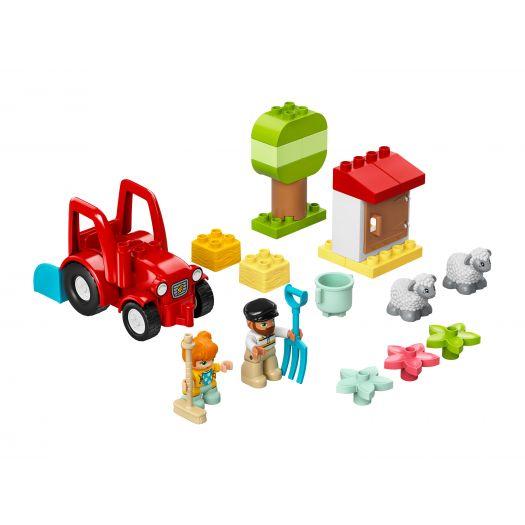Конструктор LEGO Duplo Фермерський трактор і тварини (10950)замовити
