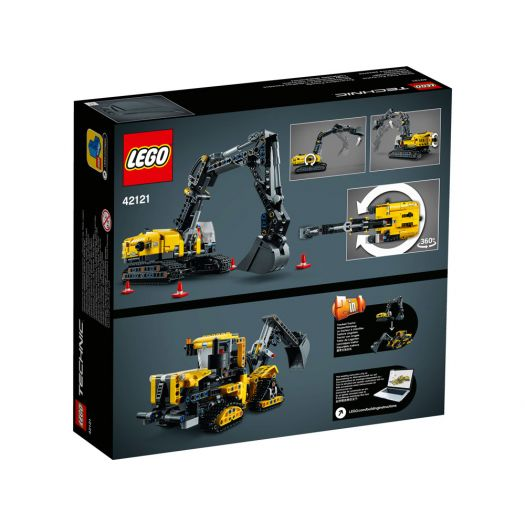Конструктор LEGO Technic Важкий екскаватор (42121)замовити