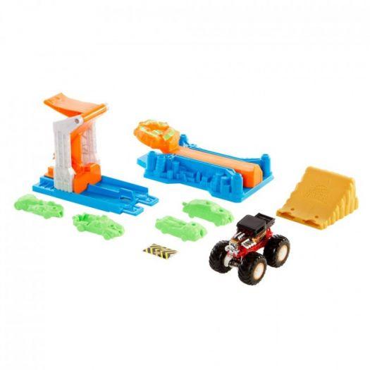 Ігровий набір Hot Wheels Monster Trucks Монстро-стрибок (GVK08)замовити