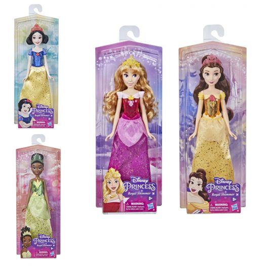 Лялька Disney Princess Принцеси Дісней Royal shimmer в асорт. (F0882)замовити