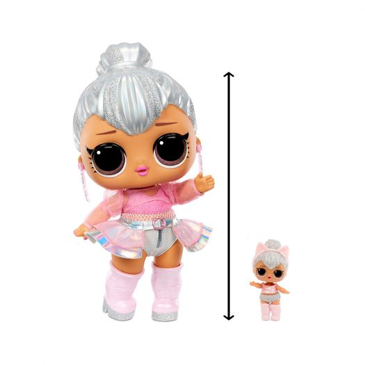 Ігровий набір з мега-лялькою LOL SURPRISE! серії Big B.B.Doll - Королева Кітті (573074)замовити