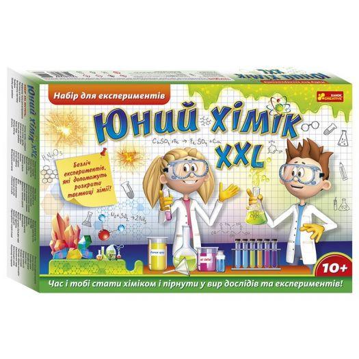 Набір для експериментів Ranok-Creative Юний хімік XXL (12114122У/349467)купити