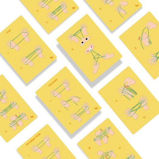 Гра-головоломка Mideer Сat's Сradle Мотузочка (MD1101)купити