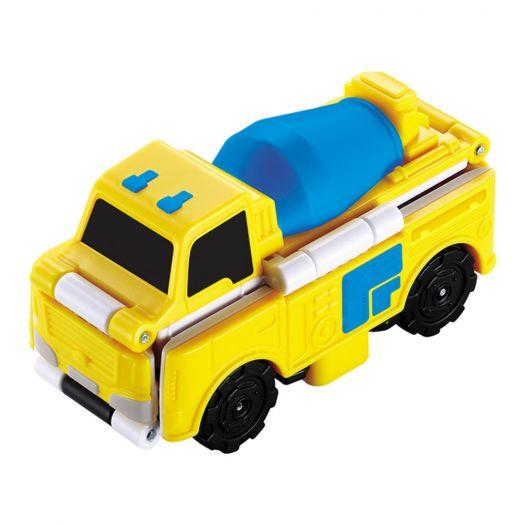 Іграшка TransRacers 2в1 Бетономішалка-траншеєкопач (YW463875-02)купити