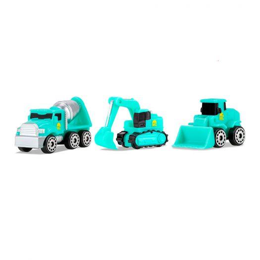 Набір машинок MICRO MACHINES W3 Будівництво 3 штуки (MMW0194)замовити