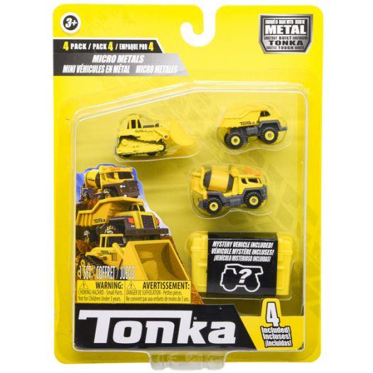 Набір мікро машинок Tonka Будівельна техніка, металевий (06056)в Україні