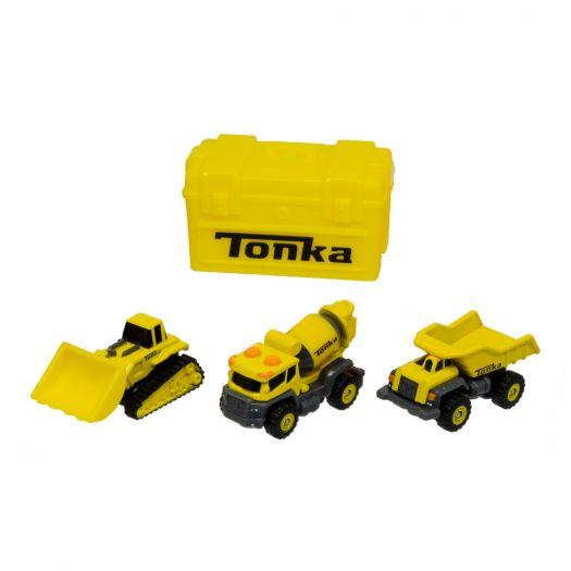 Набір мікро машинок Tonka Будівельна техніка, металевий (06056)замовити