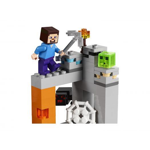 Конструктор LEGO Minecraft Покинута шахта (21166)в Україні