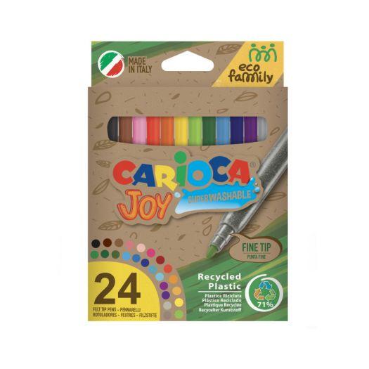 Фломастери Carioca Ecofamily Joy (43103)замовити