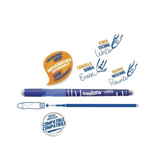 Ручка пиши-стирай Carioca (43040)замовити