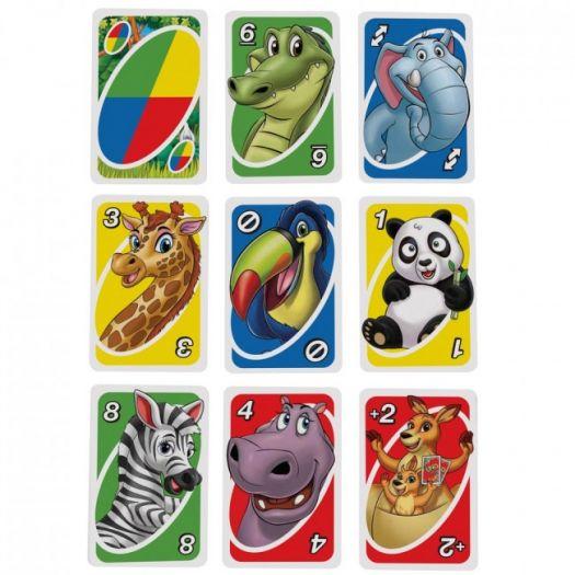 Карткова гра Mattel Games UNO Junior оновлена (GKF04)замовити