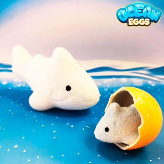 Іграшка, що зростає в яйці #Sbabam Ocean Eggs Повелителі океанів і морів в асорт. (T001-2019)замовити