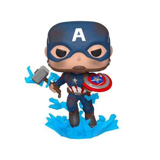Фігурка FUNKO POP! серії Месники: Фінал - Капітан Америка із мйольніром (45137)купити