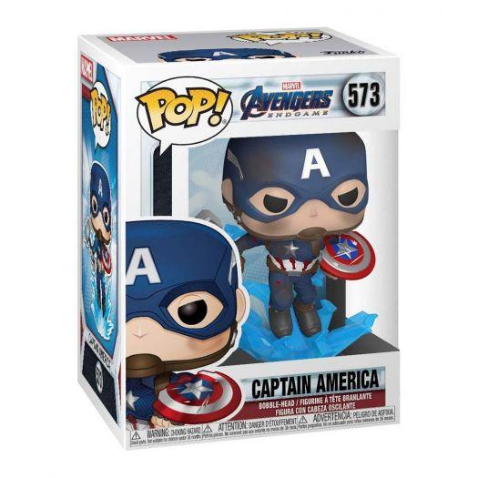 Фігурка FUNKO POP! серії Месники: Фінал - Капітан Америка із мйольніром (45137)замовити