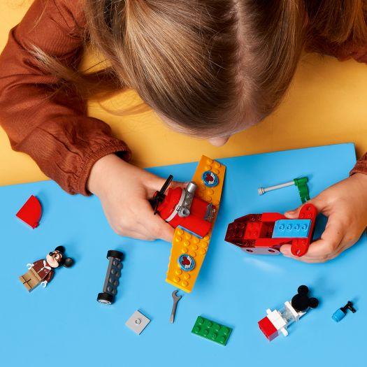 Конструктор LEGO Mickey and Friends Гвинтовий літак Міккі (10772)замовити