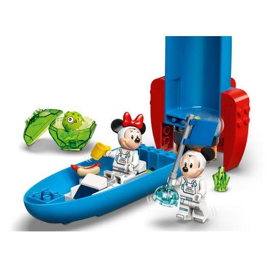 Конструктор LEGO Mickey and Friends Космічна ракета Міккі Мауса та Мінні Маус (10774)купити