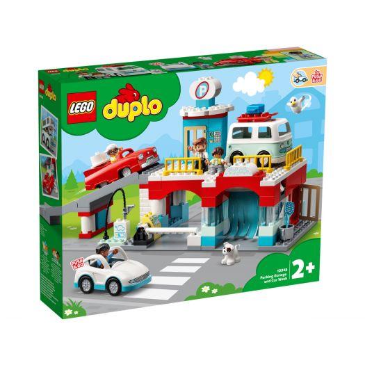 Конструктор LEGO Duplo Гараж і автомийка (10948)в Україні