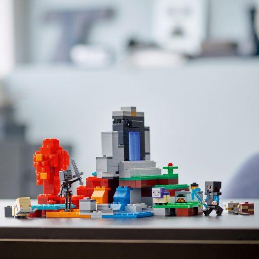 Конструктор LEGO Minecraft Зруйнований портал (21172)замовити