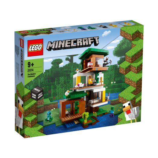 Конструктор LEGO Minecraft Сучасний будиночок на дереві (21174)купити