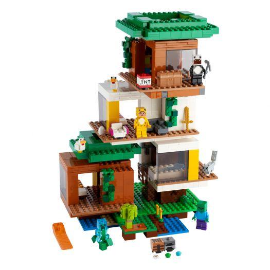 Конструктор LEGO Minecraft Сучасний будиночок на дереві (21174)замовити