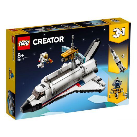 Конструктор LEGO Creator Пригоди на космічному шатлі (31117)купити