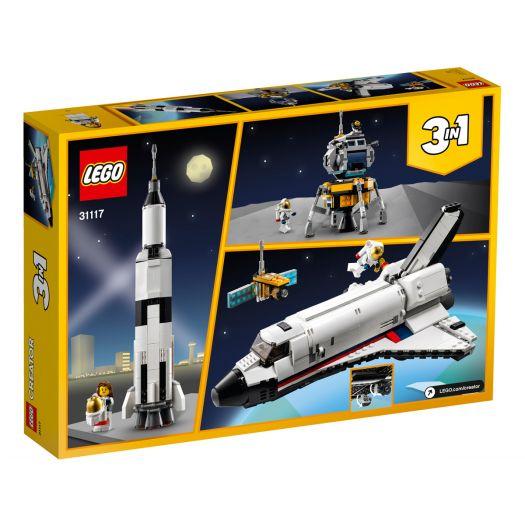 Конструктор LEGO Creator Пригоди на космічному шатлі (31117)замовити