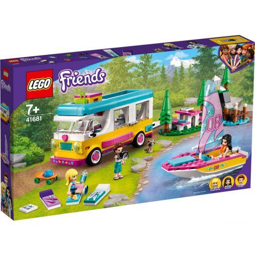Конструктор LEGO Friends Лісовий будинок на колесах і вітрильника (41681)замовити