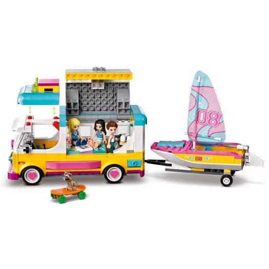 Конструктор LEGO Friends Лісовий будинок на колесах і вітрильника (41681)купити