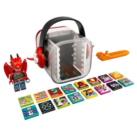 Конструктор LEGO Vidiyo Бітбокс Дракон-металіст (43109)купити