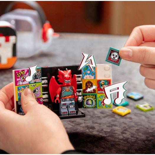 Конструктор LEGO Vidiyo Бітбокс Дракон-металіст (43109)замовити