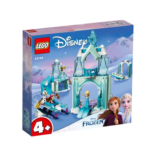 Конструктор LEGO Disney Princess Крижана чарівна країна Анни та Ельзи (43194)замовити