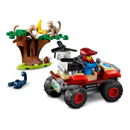 Конструктор LEGO City Рятувальний всюдихід для звірів (60300)замовити