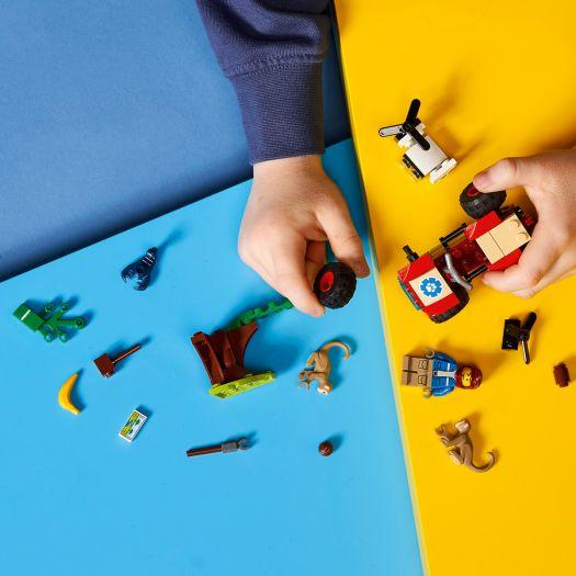 Конструктор LEGO City Рятувальний всюдихід для звірів (60300)в Україні