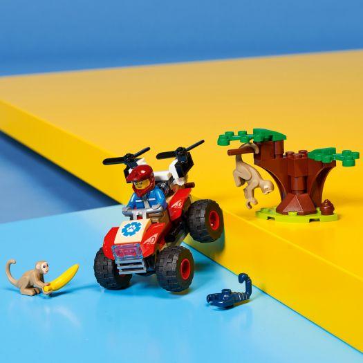 Конструктор LEGO City Рятувальний всюдихід для звірів (60300)купити