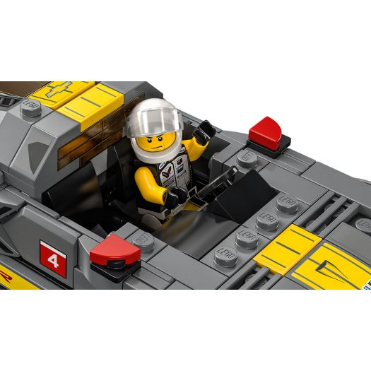 Конструктор  LEGO Speed champions Гоночний Chevrolet Corvette C8R та Chevrolet Corvette 1968 (76903)в Україні