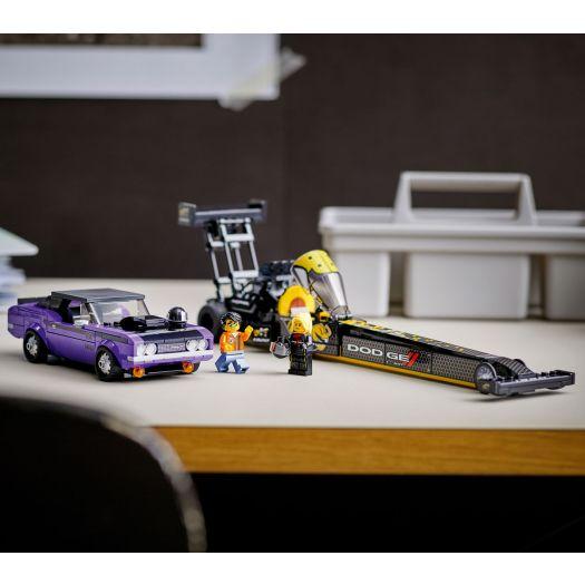 Конструктор LEGO Speed Champions Mopar Dodge SRT Top Fuel Dragster and 1970 Dodge Challenger T/A (76904)замовити