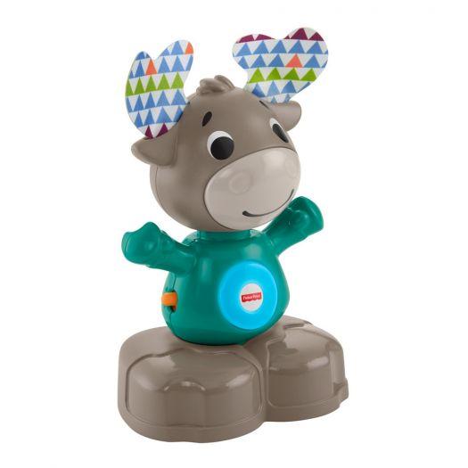 Інтерактивна іграшка Fisher-Price Веселий лось серії Linkimals (укр) (GXR01)в Україні
